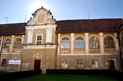 Pałac Štatemberg od wewnątrz. Makole, Podravje.