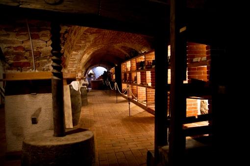 Piwnica w pałacu Štatenberg