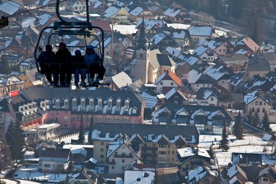 Kranjska Gora (źródło: www.slovenia.info; autor: Jošt Gantar)