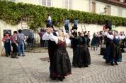 Tancerze w tradycyjnych styryjskich strojach